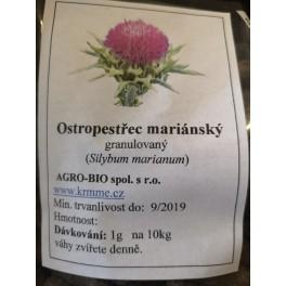 ostropestřec mariánský - granulát 0,5kg